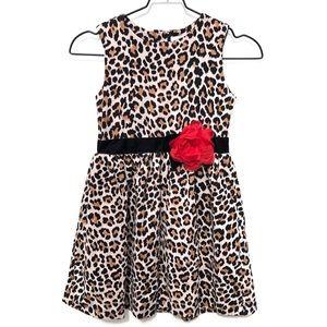 Kate Spade girls leopard print dress